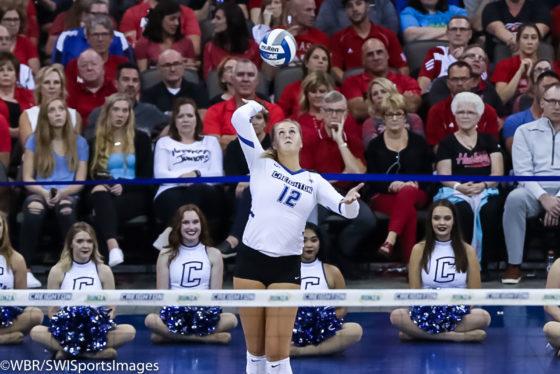 Photo Galleries:  #14 Creighton Volleyball falls to #7 Nebraska