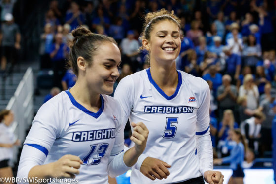 Photo Gallery: #10 Creighton Volleyball sweeps #21 Marquette