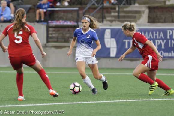 Women's Soccer Wrap-Up: Creighton splits matches at Eastern Michigan and South Dakota State