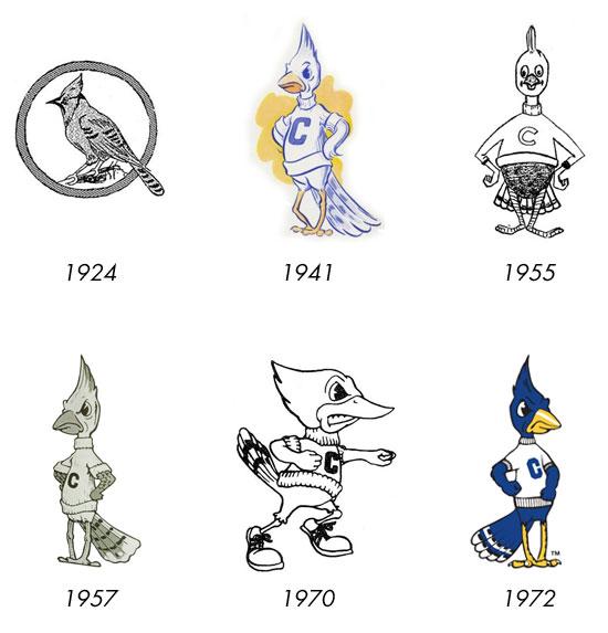 creighton logos through history